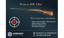Ружье Иж-18м 12×76