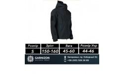 Esdy тактическая куртка оригинал Softshell Shark Skin 01 Черная