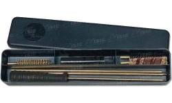 Набор для чистки MegaLine 08/40009 кал. 9. Латунный шомпол. Пластиковый кейс.