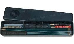 Набор для чистки MegaLine 08/50008. кал. 8. Шомпол в оплетке. Пластиковый кейс.