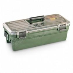 Кейс MTM Shooting Range Box для чистки и уходом за оружием. Цвет - темно-зеленый