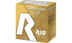 Патрон RIO Load Game C20 кал. 20/70 дріб №4 (3,25 мм) навіска 25 г