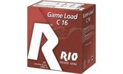 Патрон RIO Load Game C16 кал. 16/70 дріб №4/0 (5 мм) навіска 28 г