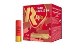 Патрон RIO Load Game C16 NEW кал. 16/70 дріб №1 (4 мм) навіска 28 г