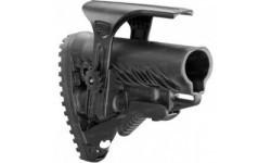 Приклад FAB Defense GLR-16 CP с регулируемой щекой для AR15/M16. Цвет - черный