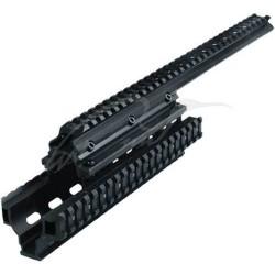 Обвес тактический UTG (Leapers) MNT-HGSG12 для Сайги-12. Длина - 381 мм. Высота - 81 мм. Ширина - 58 мм