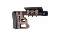 Приклад MDT Skeleton Carbine Stock 10.75''. Материал - алюминий. Цвет - песочный
