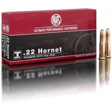 Патрон RWS кал.22 Hornet куля TMS маса 3 р