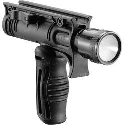 Рукоятка передняя FAB Defense FFA-T4 складная с креплением для фонарей 30 мм