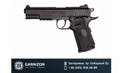 Пистолет пневматический ASG STI Duty One Blowback. Корпус - металл