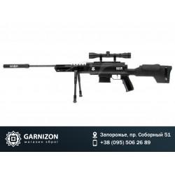 Винтовка пневматическая Norica Black OPS Sniper + прицел 4x32 + сошки
